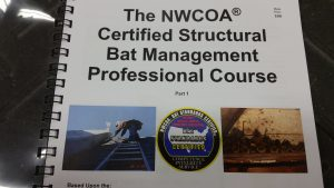 NWCOA certified structural bat management professional course