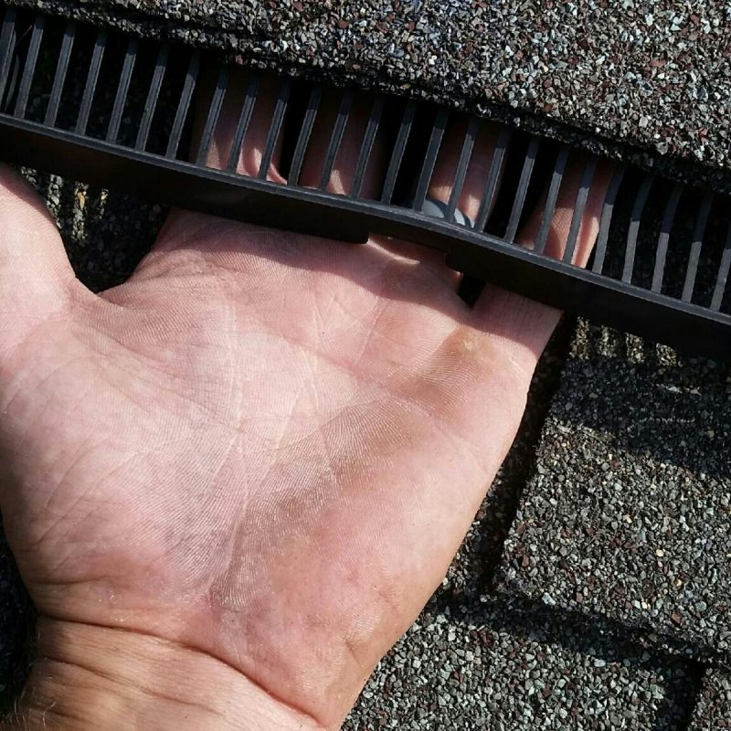 Ridge Guard for Roof Ridge Vent protection